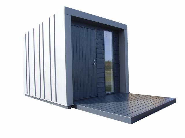 CUBE   Minimalistisk havehus