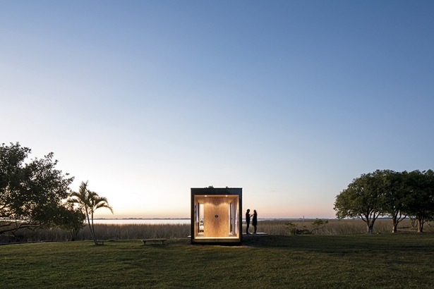 Container hus i enkelt design