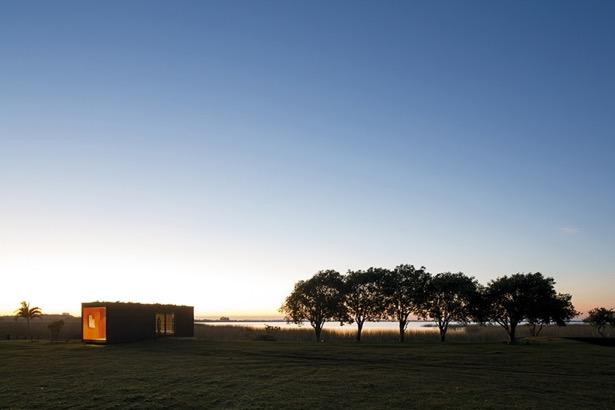 Container hus med skøn beliggenhed
